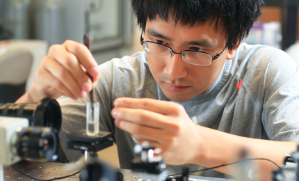 Zhao Zhang does faculty research