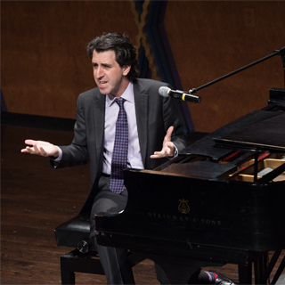 Broadway composer Jason Robert Brown at Festival of Amerian Song