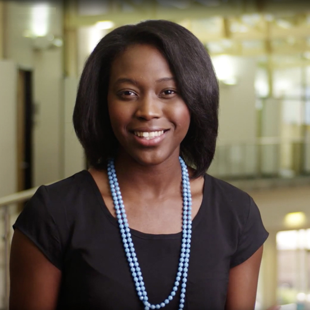 MBA student Racquel Hudson