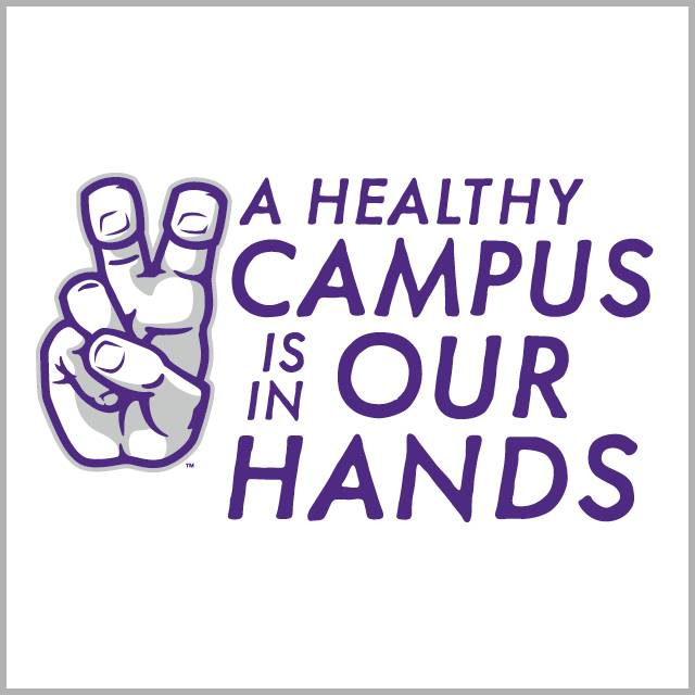Healthy Campus is in Our Hands graphic